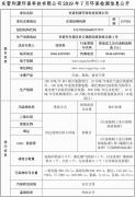 东营利源环保科技有限公司2019年7月环保检测信息公开